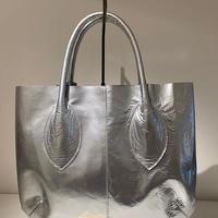 エナメルトートバッグ(Silver)