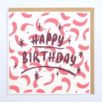ギフトカード_HAPPY BIRTHDAY CURVE