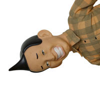 "USED ""TALKING ED GRIMLEY"" DOLL"