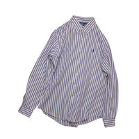 "USED ""POLO RALPH LAUREN"" STRIPE SHIRT"
