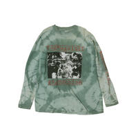 RAGE AGAINST THE MACHINE USED TIEDYE L/S Tshirts