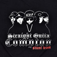 "USED ""STRAIGHT OUTTA COMPTON  STUNT TEAM"" T-shirt"