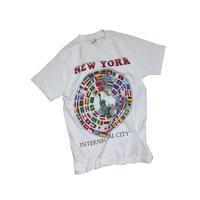 "USED "" NEW YORK INTERNATIONAL CITY"" T-shirt"