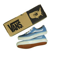 "LATE 90'S DEAD STOCK VANS ""OLD SKOOL"" LIGHT BLUE / WHITE"