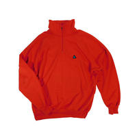 "USED ""NIKE ACG"" HALF ZIP FLEECE JACKET"