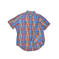 "USED ""POLO RALPH LAUREN"" COTTON CHECK SHIRT"