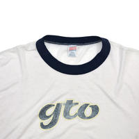 "USED ""80-90'S GTO"" RINGER T-shirt"