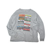 USED UNKNOWN TAPE L/S TSH