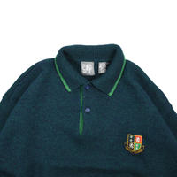 "USED ""80-90'S GAP"" WOOL  POLO KNIT"
