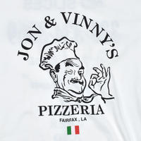 "USED ""JON&VINNY'S PIZZERIA"" T-shirt"