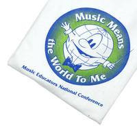 """USED 90'S """"MUSIC MEANS THE WORLD TO ME"""" T-shirt"""