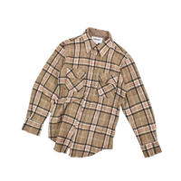 "USED ""SUNSHINE MOUNTAIN"" WOOL PLAID SHIRT"