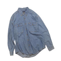 "USED ""OLD GAP"" DENIM LONG SLEEVE SHIRT"
