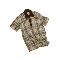 USED ARROW CHECK POLO SHIRT