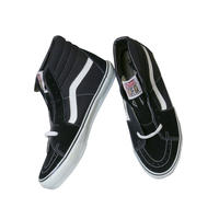 "LATE 90'S DEAD STOCK VANS ""SK8-HI"" BLACK / WHITE"
