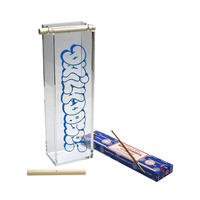 "・ DDQS ""BUBBLE LOGO ACRYLIC"" INCENSE BURNER"