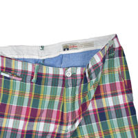 "USED ""INDIA MADRAS FROM RALPH LAUREN"" PLAID SHORT"