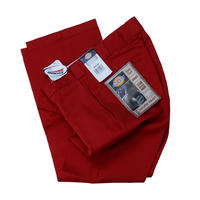 DICKIES 874 FLAT FRONT PANT  / RED