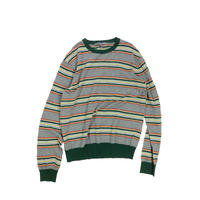 "USED ""OLD NAVY"" MULTI BORDER KNIT"