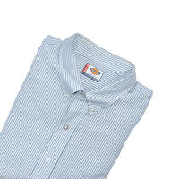 "USED ""DICKIES"" STRIPE B.D. SHIRT"