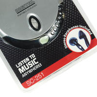 """""""SUPER SONIC"""" PERSONAL CD PLAYER"""