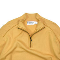"USED ""ST.CROIX / UTAH WOOLEN MILLS"" COTTON HALF ZIP KNIT"