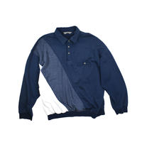 "USED ""DAVID TAYLOR"" SWEAT POLO SHIRT"