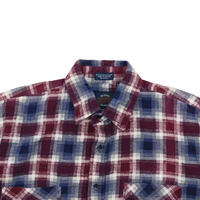 "USED ""90'S SAUGATUCK"" PLAID SHIRT"