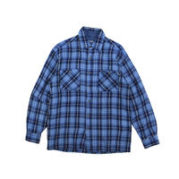 "USED ""JOHN BLAIR"" PLAID SHIRT"