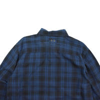 "USED ""CONVERSE ALL STAR"" FLANNEL CHECH SHIRT"