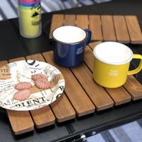 アイアンハンドル木製トレイ【Lサイズ】
