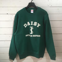 DAISY BICYCLE REPAIR SWEAT SHIRT  (アイビーグリーン)