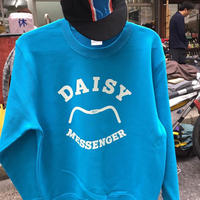 DAISY BICYCLE REPAIR SWEAT SHIRT  (turquoise blue)