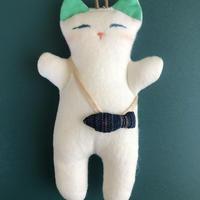 ネコのお人形