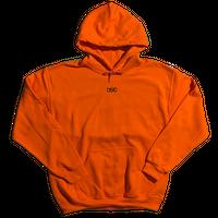 Twist Hoodie  Orange