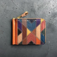 ORTEGA PATCHWORK MONEY CLIP