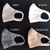 無縫製マスク 4色セット