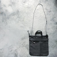 OUT LEATHER MINIMUM BAG