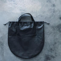 CIRCLE TOTE L-SIZE  WATER PROOF GOAT LEATHER