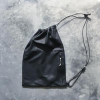 OUT LEATHER SHOULDER BAG
