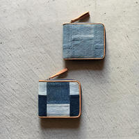505 USED DENIM PATCHWORK WALLET SMALL