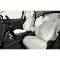 "Premium Fit Seat Cover for MAZDA CX-5 (KE系/後期) ""White × White Stitch"""