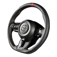 "DAMD Sports Steering Wheel for MAZDA ""SS360-M(L)"" Leather Type"