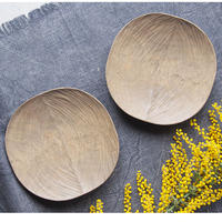 岡野達也  手彫りの木皿・小    OK-18