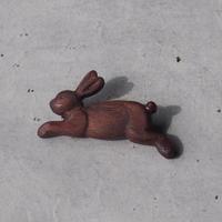 sunawo na katachi      ブローチ ウサギのリル     SN-08