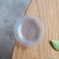 オオタ硝子研究室 リム豆皿     ブルーグレー     OT-02
