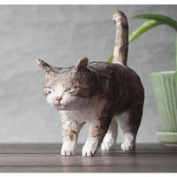 渡辺 雅人 手彫りの猫 /w50 ×d140×h135(しっぽ含)   WA-24
