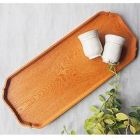 トナリ木工 欅飾り盆   TON-15
