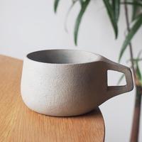 長谷川誠 スープカップ 大   白漆 HA-14