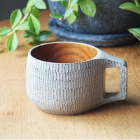 長谷川誠 スープカップ M   白漆 HA-08